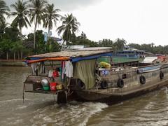 Child's view (program monkey) Tags: vietnam mekong river delta cargo boat ben tre tra vinh child kid view