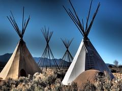 (Phoebus58) Tags: usa newmexico nouveaumexique taos indian indien tente tepee tipi pueblo olympus
