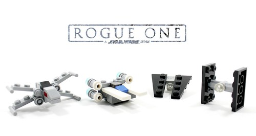 Rogue One Mini-Starfighters - a photo on Flickriver