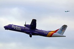Flybe ATR72-600 EI-REL at Isle of Man EGNS 02/12/16 (IOM Aviation Photography) Tags: flybe atr72600 eirel isle man egns 021216