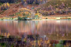 The many shades of colour at Loch Dughaill (John (thank you >1 million views)) Tags: 500milesnorthcoastroadtrip lochdughaill loch lake waterreflections trees westerross scotland highlands