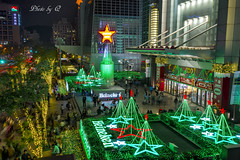 Heineken Christmas tree @ Taipei 101 (SU QING YUAN) Tags: heineken chritmas tree green xmas winter light taiwan taipei taipei101 night nightview nightshot beauty beautiful pretty city landscape landmark landscapes