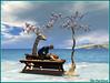 Massage surveillé ! (Tim Deschanel) Tags: tim deschanel sl second life myst64 dinzel couple femme homme man woman love amour deux roue de magnolia pino massage girafe