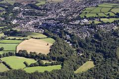 Approaching Okehampton Castle (John D F) Tags: englishheritage castle medieval norman okehampton aerial devon aerialphotography aerialimage aerialphotograph aerialimagesuk aerialview britainfromabove britainfromtheair droneview