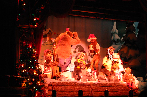 "The Five Bear Rugs at the Country Bear Christmas Show • <a style=""font-size:0.8em;"" href=""http://www.flickr.com/photos/28558260@N04/31370071865/"" target=""_blank"">View on Flickr</a>"