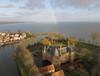 Medemblik-kasteel Radboud (3) (de kist) Tags: kap thenetherlands westfriesland medemblik kasteelradboud florisv dwangburcht kasteel ijsselmeer medemblikcastle radboudcastle grotepier luchtfotografie aerialphotography
