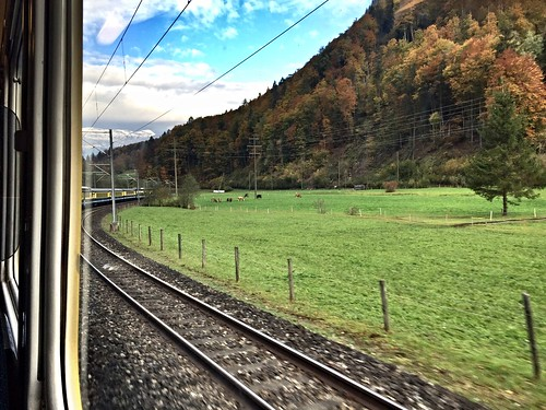 From the train between Interlaken and Lauterbrunnen, Switzerland