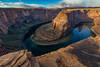 Stone edge (sochhoeung) Tags: pagearizona arizona southwest americansouthwest page horseshoebend bend coloradoriver snake uturn moring clouds