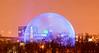 Biosphere, Montreal, Qc (Maxim B.) Tags: night blue urban jeandrapeau parc stehelene quebec sky montreal park evening biosphere canada memorytrigger