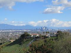 DTLA View (Kelson) Tags: losangeles hahnpark kennethhahnstaterecreationarea california sangabrielmountains skyline dtla downtownlosangeles hills mountains snow