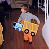 Dump truck toddler
