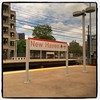 24 May 2014 (Rob Rocke) Tags: travel windows signs home text ct trains amtrak transportation newhaven unionstation homesweethome portals railroads metronorth trainstations bonvoyage throughawindow welcomehome nhv instagram gscia