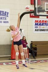 DJT_4180 (David J. Thomas) Tags: college sports athletics women volleyball arkansas bison scots naia batesville hardinguniversity lyoncollege