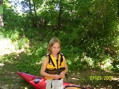 say HI to Savannah G 100_1316 (retirednrelaxed) Tags: trip wisconsin club river illinois kayak il 2008 wi rockford stateline paddlers july29 yahara