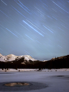 Rocky Mtn. Star trails