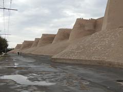 DSCN5425 (bentchristensen14) Tags: uzbekistan citywall khiva ichonqala