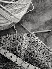 Stricken nach Ma (kaktus83) Tags: knitting stricken masband rechtslinks