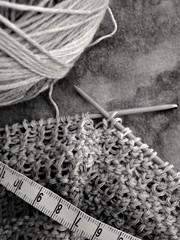 Stricken nach Maß (kaktus83) Tags: knitting stricken masband rechtslinks