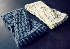 alpaca earwarmers (andrea creates) Tags: crochet headbands earwarmers mistialpaca oct14