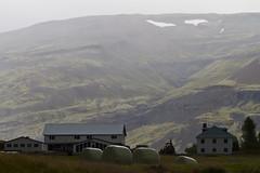 the farm at the base of a glacier (kleemo) Tags: iceland vatnajkull vatna davidkleeman vatnajkullglacier dak|foto