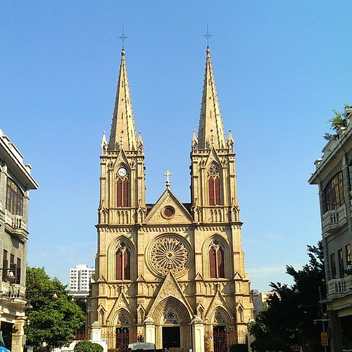 Beautiful #cathedral in #Guangzhou #China