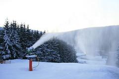 Beschneiung in der Wintersport Arena Sauerland