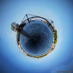 Planet Wilhelmshaven (hherrlich) Tags: grafik montage planet hafen brcke harem wilhelmshaven kaiserwilhelmbrcke hherrlich hergenweyrich