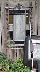 A Touch Of The Whimsical (MDawny72) Tags: garden washington stainedglass dupont whimsical funkyjunk myfavoritethings myphotography explorewashington wwpw2014