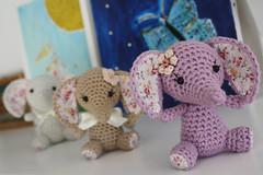 Tiny luck elephant - amigurumi pattern (lilleliis) Tags: elephant animal toy diy pattern crochet luck trunk instructions amigurumi tutorial