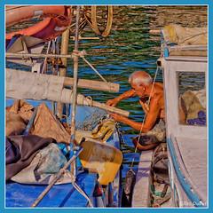 Pcheur turc (GilDays) Tags: sea mer nature port turkey boat fishing fisherman nikon asia harbour turquie antalya asie bateau fishingboat pcheur pche d810 bateaudepche nikond810