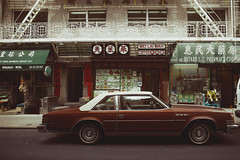 The 70s (reinfected) Tags: china new york old city nyc ny classic car town racing bayard
