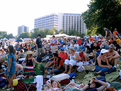 "Hundreds of Portlanders relaxing in McCall Waterfront Park • <a style=""font-size:0.8em;"" href=""http://www.flickr.com/photos/34843984@N07/15546095582/"" target=""_blank"">View on Flickr</a>"