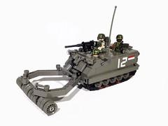 "M113 ""Rhino"" Minesweeper (Project Azazel) Tags: us google lego military vietnam pa american armor vehicle ba custom apc armour nam minesweeper vietnamwar moc googleimages armoured odg m113 armouredpersonnelcarrier legovehicle customlego legomodel brickarms legomilitary thevietnamwar legoc"