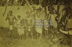 Groepsportret bosnegers