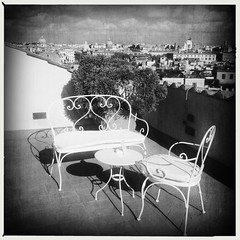 Rome .. Terrace with a view