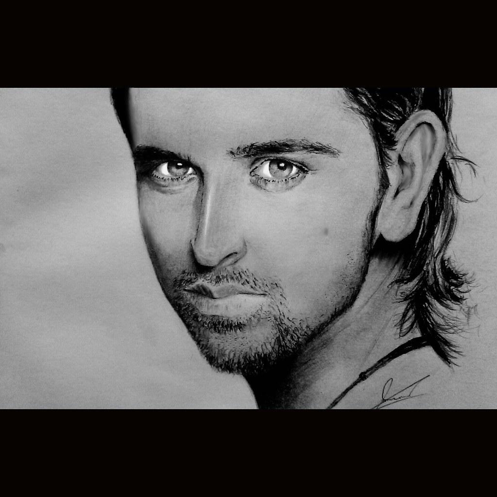 Si 20140704 021651 nasir navid tags portrait art pencil artist forsale drawing fineart bollywood visualart hrithikroshan