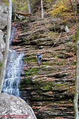 On Laurel Creek (mikerhicks) Tags: usa fall geotagged photography unitedstates hiking tennessee backpacking dayton laurelcreek tennesseestateparks laurelsnowpocketwilderness cumberlandtrailstatepark laurelsnowstatenaturalarea sigma18250mmf3563dcmacrooshsm cumberlandspring canoneos7dmkii geo:lat=3554649667 geo:lon=8502592167 laurelsnowsegment