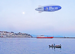 Greece, Macedonιa, Aegean Sea, advertising blimp above Kavala port (Macedonia Travel & News) Tags: macedonia ancient culture vergina sun thasos island kavala philippi orthodox republic nato eu fifa uefa un fiba aegeanmacedonia greecemacedonia macedonianstar verginasun aegeansea macedoniapeople macedonians peopleofmacedonia macedonianpeople mavrovo macedoniablog bayofbones 12175928 macedoniagreece makedonia timeless macedonian macédoine mazedonien μακεδονια македонија travel prilep tetovo bitola kumanovo veles gostivar strumica stip struga negotino kavadarsi gevgelija skopje debar matka ohrid heraclea lyncestis macedoniatimeless