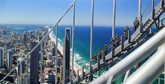 Climbing one of the tallest buildings in the world!  (Explore #370) (Aussie~mobs) Tags: aussiemobs