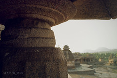 Hampi (Tatsiana Volskaya) Tags: life travel summer people sunlight india color history asian outdoors photography design asia day looking place image indian traditional religion culture land tradition hinduism cultures mythology hampi foreground ethnicity 2014 destinations ethnicities