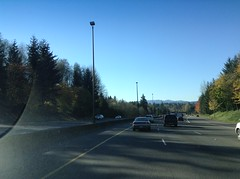 Seeing the I-5 North on-ramp and Eastside St. Overpasses on I-5 South in Olympia, WA. (vannmarcus932) Tags: i5 olympia wa