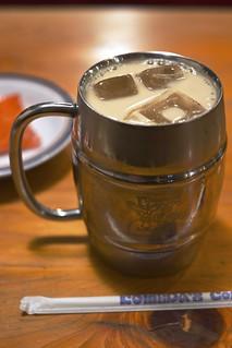 Iced coffee with milk / たっぷりアイスミルクコーヒー / コメダ珈琲店 上尾上店 (埼玉県上尾市)