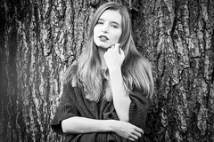 Jade B&W (andyleates) Tags: bw tree andy model nikon andrew d610 jadelyon andyleates leates andrewleates