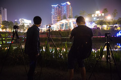 (Chris Li Image) Tags: night view taiwan scene taichung  brt tunghai