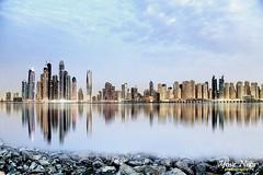 Dubai Marina (Max Loxton) Tags: longexposure beauty architecture dubai cloudy uae architectural dubaimarina dxb cityofgold yasirnisar maxloxton yasirnisarphotography ynphotography