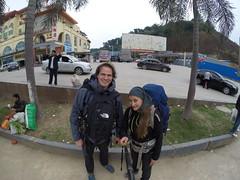 Photo de 14h -A Hekou (Chine) avant de passer la frontière Vietnamienne - 15.11.2014