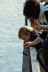 Disconvering new places (Fran Lens) Tags: madrid park parque espaa lake water lago kid pond spain agua day child dia estanque nio elretiro