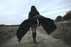 (Jobi Otso) Tags: girl dark model butt gothic adventure cape cloak concept inspire jobi coneceptual