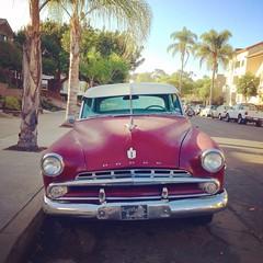 1952 (?) Dodge Coronet (JohnDoodo) Tags: auto california classic cars apple car vintage vintagecar san fifties sandiego diego dodge 50 coronet autodepoca vintagecars depoca v6 1952 iphone dodgecoronet iphone5 autovintage