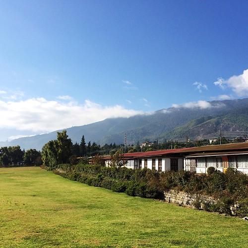 Outside of Tashichhodzong  #bhutan #thimphu #wanderlust #travel